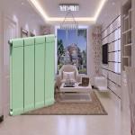 凯尔萨斯散热器 家用壁挂式铜铝复合装饰散热器 铜铝13260