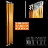 铜铝复合系列:90x75罗马柱散热器