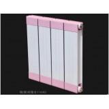铜铝复合散热器代理 铜(钢)铝复合114×60散热器