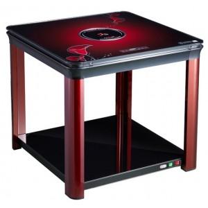 多功能取暖炉电暖器 孩子学习取暖桌 火焰山电器