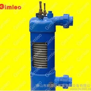 鑫雷MHTA-5钛管换热器,钛泡,钛炮,钛管冷凝器,用于泳池热泵、海鲜池等
