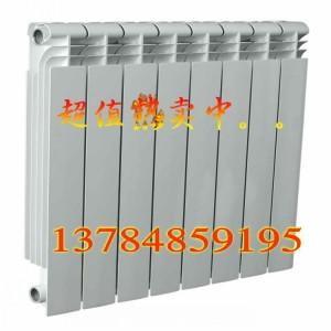 采暖散热器(采暖暖气片)厂家供应 双金属压铸铝80*85散热器暖气片