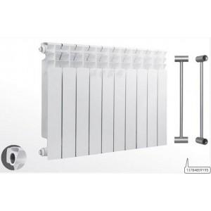 UR7006/600双金属双水道压铸铝散热器/