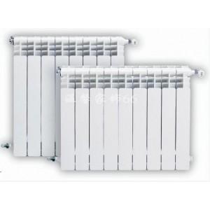 五金双金属压铸铝双水道暖气片散热器UR7006-800