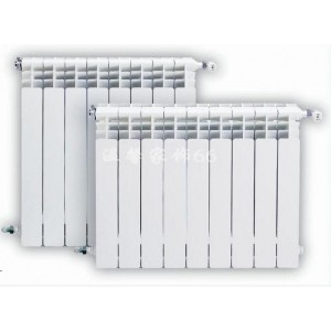 UR7006/600双金属双水道压铸铝散热器压铸铝双金属散热器
