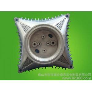 供应佛山压铸铝合金空调散热器,空调电机壳压铸模具厂,铝件压铸