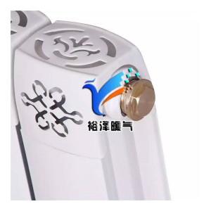 铜铝复合散热器暖气片家用自采暖80×80水暖集中供暖75型