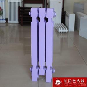 虹阳QFGZ7暖气片/散热器批发铸铁暖气片 铸铁椭四柱型散热器