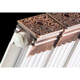 铜铝复合90×60方罗马柱散热器