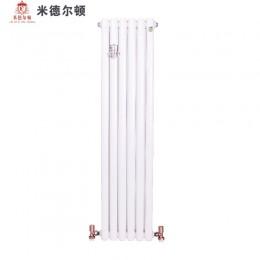 散热器十大品牌米德尔顿散热器钢制暖气片-50方片头采暖散热器