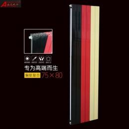 铜铝复合散热器75X80