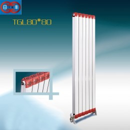 铜铝复合80x80散热器