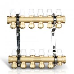 黄铜抛砂锻造一体分集水器