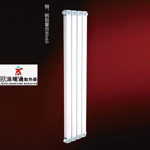 铜、钢铝复合80x60散热器