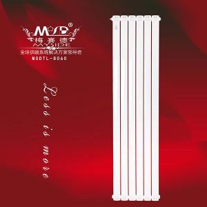 铜铝80x60散热器