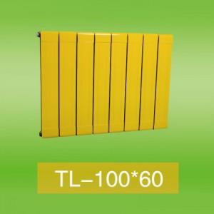 铜铝100x60暖气片|铜铝复合暖气片厂家
