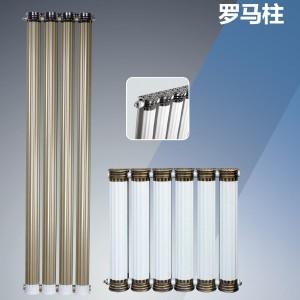 铜铝复合罗马柱散热器|天津钢制暖气片厂家