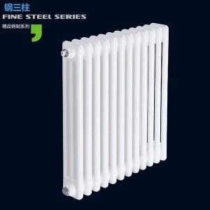 钢三柱暖气片|招财进宝散热器