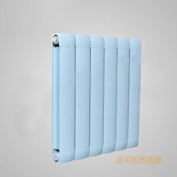 铜铝复合100x75散热器|鑫达散热器