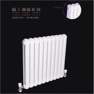 铜(钢)铝复合132X60散热器