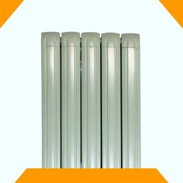 铜铝复合80x80双箭散热器