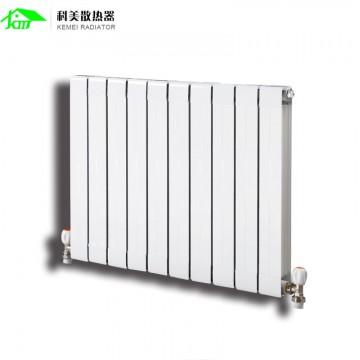 科美家用水暖暖气片自采暖集中采暖75X75壁挂式散热器
