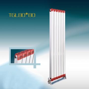 铜铝复合80*80散热器|钢制暖气片厂家