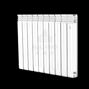 奥澜德散热器|铜铝复合75X75防熏墙散热器