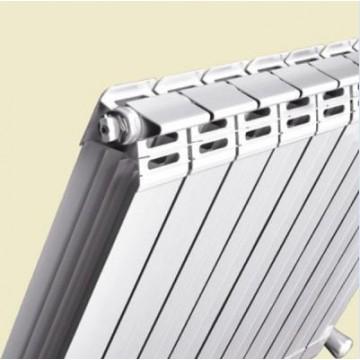 新型铜铝75X75防熏墙散热器|骑士散热器
