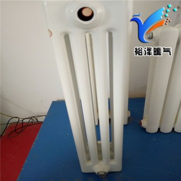 家用暖气片散热器钢四柱钢制大水道壁挂式暖气片散热片