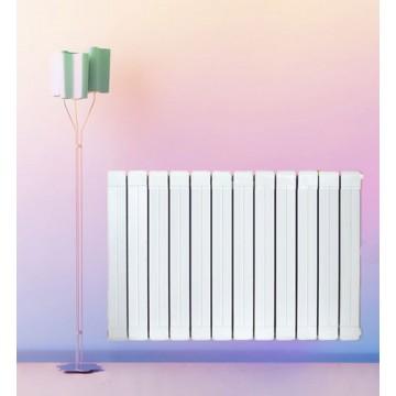 铜铝复合75x75散热器|暖福瑞散热器