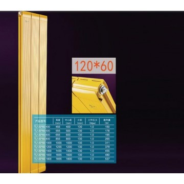 铜铝复合120x60散热器|鑫一马散热器