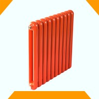 铜铝复合暖气片厂家|钢制散热器|散热器钢制50圆片头散热器