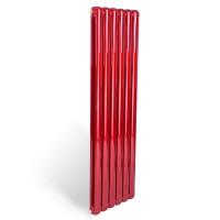 速春|家用暖气片壁挂采暖|钢制70圆-红色散热器