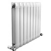暖气片十大品牌|炽天使散热器|铜铝复合80*80新款带翅