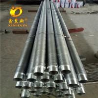 螺旋翅片管散热器 钢制高频焊螺旋翅片管 螺旋翅片管散热器价格