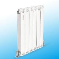 铜铝复合80x80散热器|美思康散热器