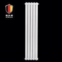 德仕盾家用散热器生产供应商|钢制70x30圆双柱散热器