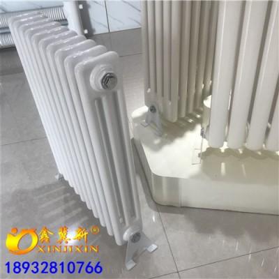 淄博GZ314钢制三柱型散热器@家用集中供暖低碳钢三柱
