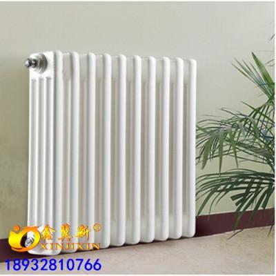 淮北GZ413壁挂式钢四柱暖气片@低碳钢制四柱散热器