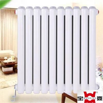 陕西暖气片生产厂家批发 家用大水道钢制散热器