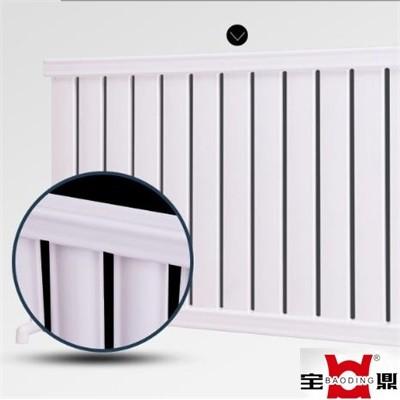辽宁采暖散热器厂家宝鼎 客厅使用的低碳钢暖气片