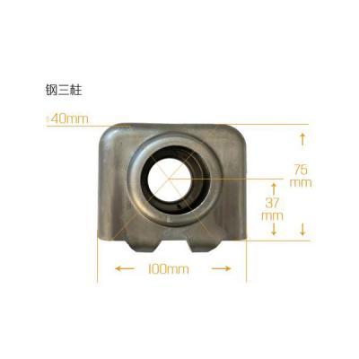 天津散热器片头金鸿达金属钢三柱暖气片片头安全可靠