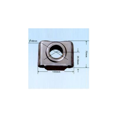唐山金凯鑫散热器片头厂家直销50×25方片头