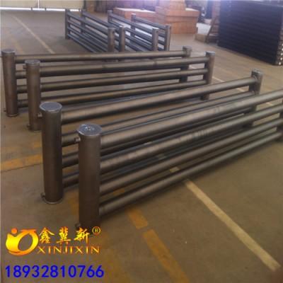 D133*2000*3型工业专用蒸汽水暖光排管散热器加工定制
