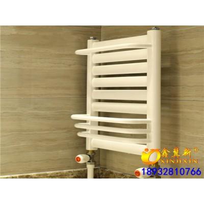 工程用钢制卫浴暖气片钢制毛巾架@大口径家用钢制喷塑小背篓