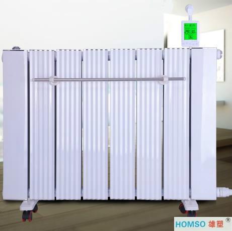 电暖气片产品安装示意图 冷、热水,家装管材厂家直销
