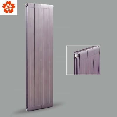 北京暖气片批发商樱花供应铜铝复合114X60双水道暖气片