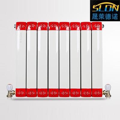 山东铜铝复合散热器经销商 壁挂式家用暖气片产品