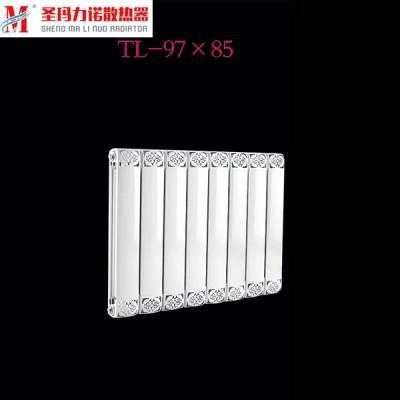 北京铜铝复合散热器生产厂家批发销售铜铝复合97x85散热器
